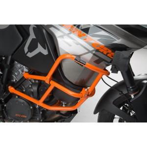 Άνω προστατευτικά κάγκελα SW-Motech για ΟΕΜ κάγκελα KTM 1090 Adventure/R πορτοκαλί