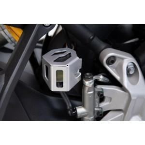 Προστατευτικό κάλυμμα δοχείου υγρών πίσω φρένου SW-Motech KTM 790 Adventure/R ασημί