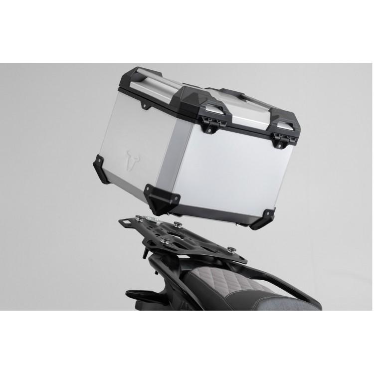 Σετ βάσης και βαλίτσας topcase SW-Motech TRAX ADV KTM 890 Adventure/R ασημί