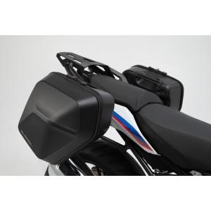 Σετ βάσεων και πλαϊνών βαλιτσών SW-Motech Urban ABS 33 lt. BMW R 1250 R (σετ)