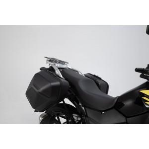 Σετ βάσεων και πλαϊνών βαλιτσών SW-Motech Urban ABS 33 lt. Suzuki DL 250 V-Strom (σετ)