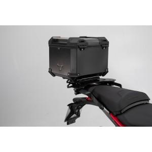 Σετ βάσης και βαλίτσας topcase SW-Motech TRAX ADV Ducati Multistrada 950-1200 Enduro μαύρο