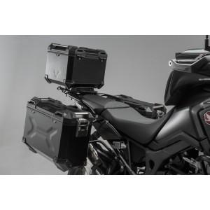 Σετ βάσεων και βαλιτσών SW-Motech TRAX ADV Honda CRF 1000L Africa Twin -17 μαύρο