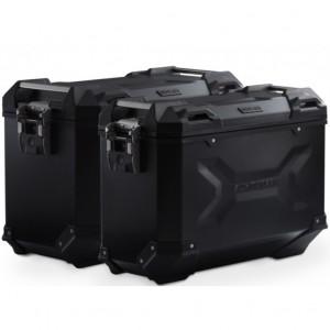 Σετ βάσεων και βαλιτσών SW-Motech TRAX ADV Suzuki DL 650 V-Strom/XT 12-16 μαύρο