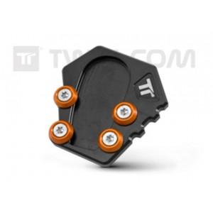 Επέκταση βάσης πλαϊνού σταντ Twalcom KTM 1290 Super Adventure S/T/R μαύρη-πορτοκαλί