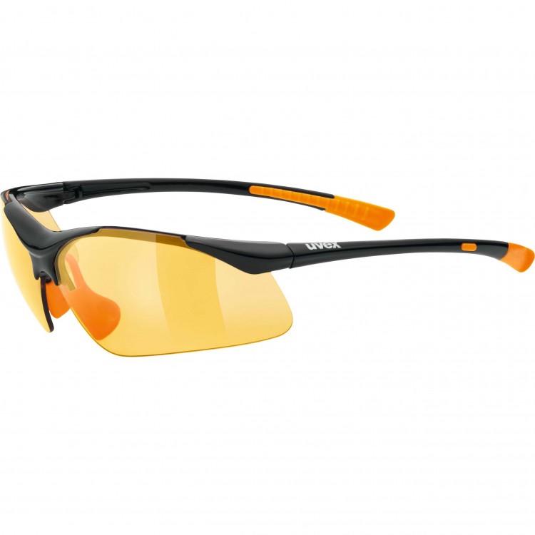 Γυαλιά UVEX Sportstyle 223 μαύρα-πορτοκαλί