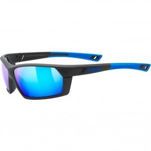Γυαλιά UVEX Sportstyle 225 μαύρα-μπλε ματ