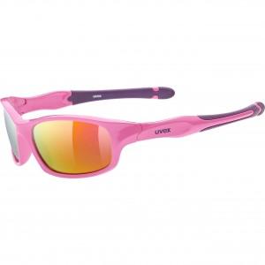 Γυαλιά UVEX Sportstyle 507 ροζ-μωβ παιδικά