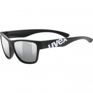 Γυαλιά UVEX Sportstyle 508 μαύρα ματ παιδικά