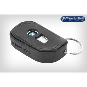 Δερμάτινη θήκη κλειδιού Wunderlich για μοντέλα BMW Keyless Ride μαύρη