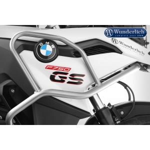 Άνω προστατευτικά κάγκελα Wunderlich BMW F 850 GS ανοξείδωτο ατσάλι